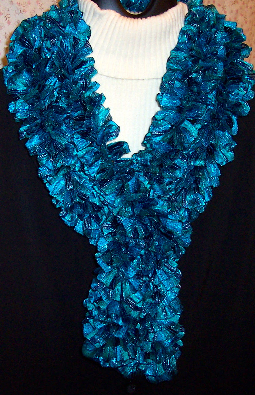 jc s sewing room sashay and ribbon ruffle scarves