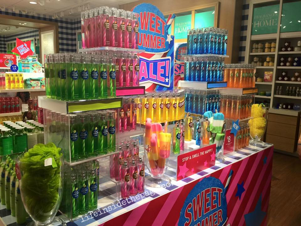 Bath   Body Works   Sweet Summer Sale   Floorset Photos   June 29  2015. Life   Inside the Page  Bath   Body Works   Sweet Summer Sale