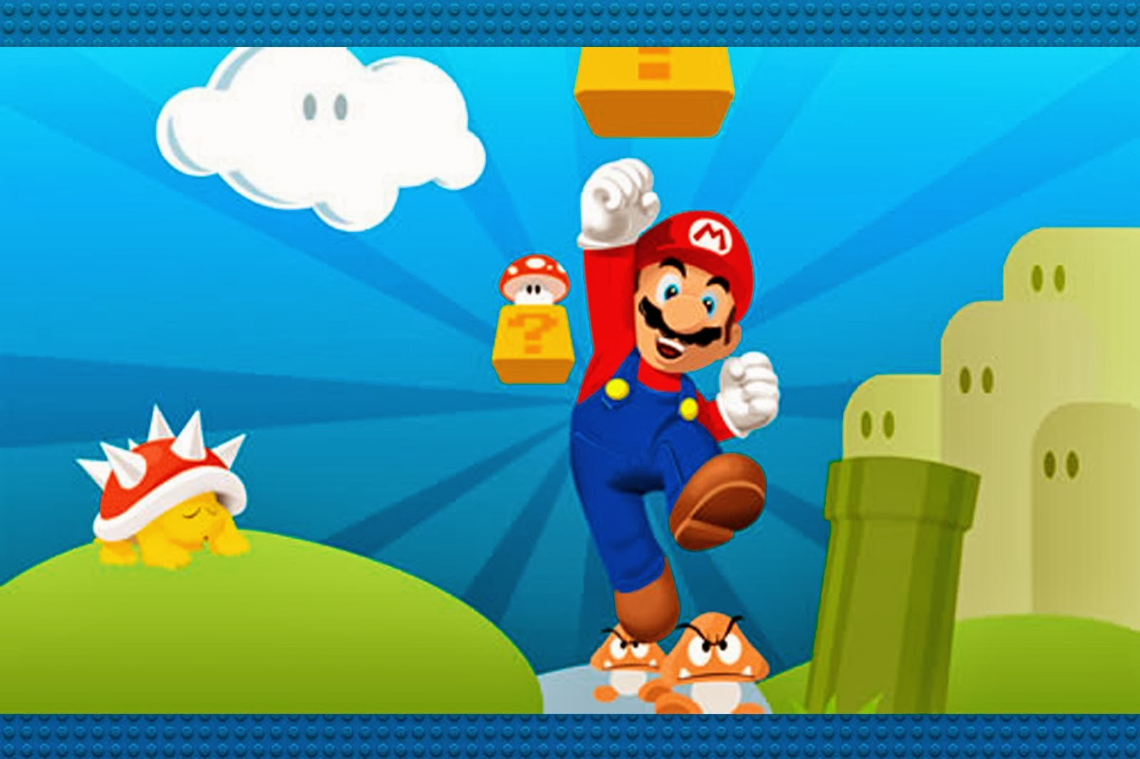 Super Mario Bros Free Party Printables and Invitations – Super Mario Bros Party Invitations