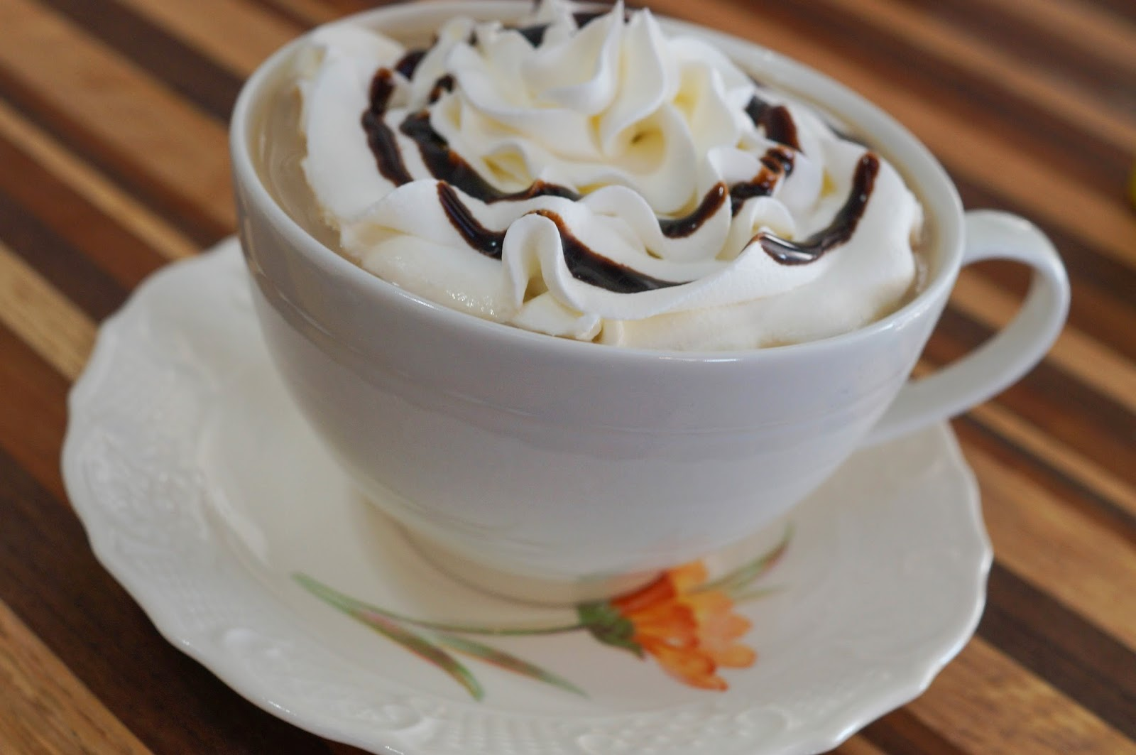 white chocolate mocha coffee
