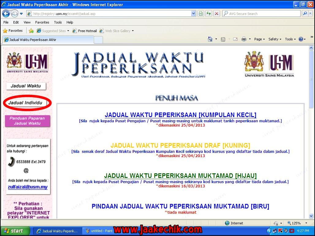 jadual exam pjj, DOWNLOAD BORANG brim, download jadual exam, exam pjj