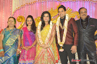 Celebraties at Actor Bharat n Jessy Wedding Reception Photos+%252822%2529 Actor Bharath n Jessy Wedding Photos