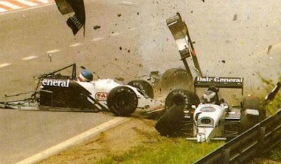 GP da Bélgica de Formula 1, Spa-Francorchamps em 1987 - by continental-circus.blogspot.com