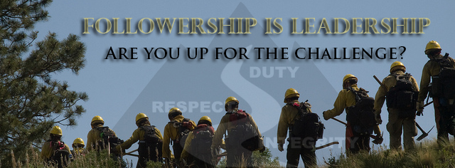 Followership is Leadership Banner
