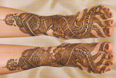 Bridal Mehndi Gallery : Bridal mehndi designs peacock hands and feet for full