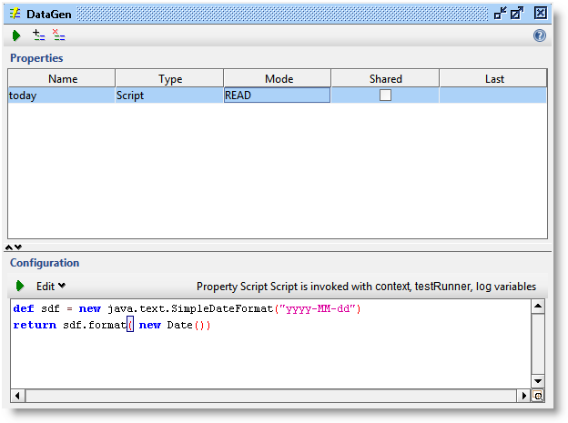 SoapUI DataGen Test Suite Facility