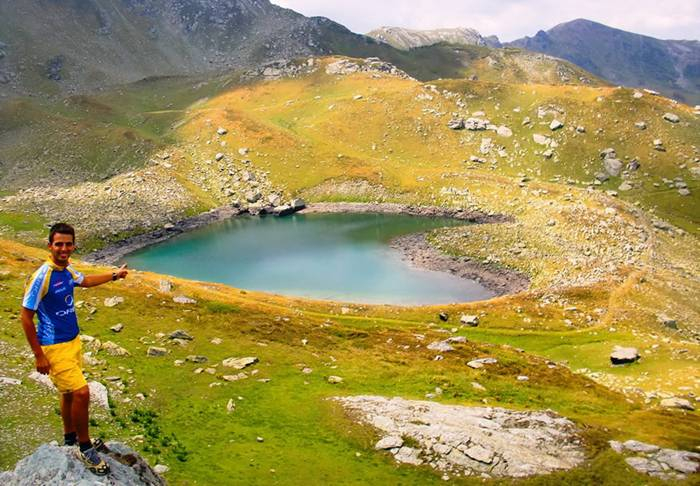 Mountain Lake in Kosovo