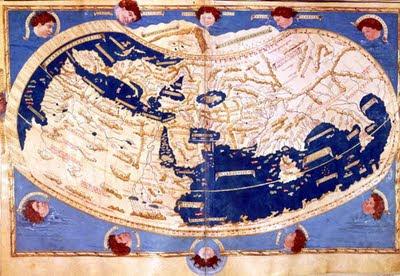 o mapa múndi e o imaginário medieval