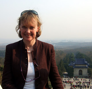 Author Sophie Neville in China