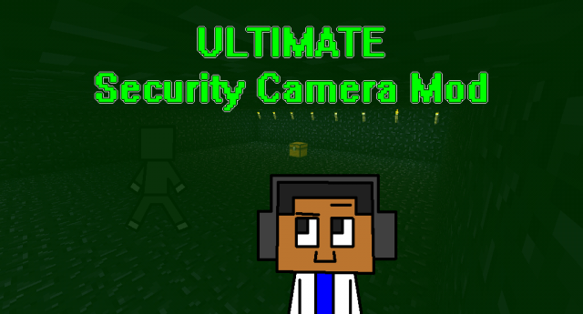 how to make a security camera in minecraft pe