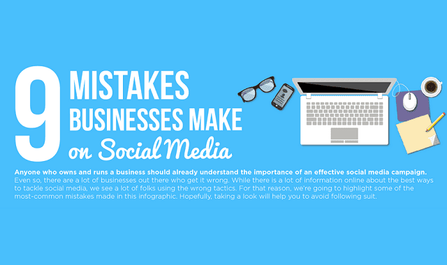 Image: 9 Mistakes Businesses Make On Social Media