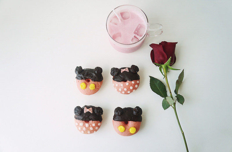 Disney Donuts - Rose Bandung Flavour