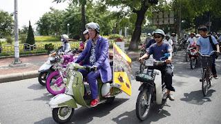 Top Gear Vietnam Special bikes Vietnam