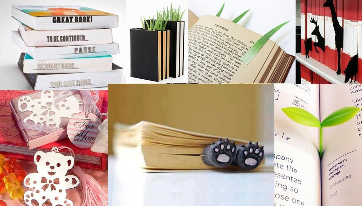 separadores de libros, bookmarks, recopilación