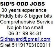 Sid's Odd Job service