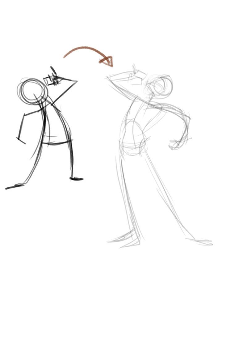 Let\'s Animate: X-MEN CYCLOPS sketch + Step by Step