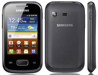 Harga handphone Samsung S 5300 Galaxy Pocket