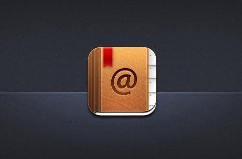 iPhone App Icon PSD Design