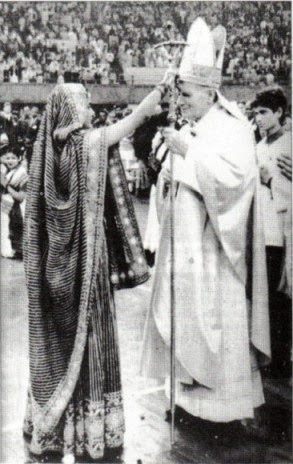 "Pope John Paul II ""Canonized"" by Fr. Villa"