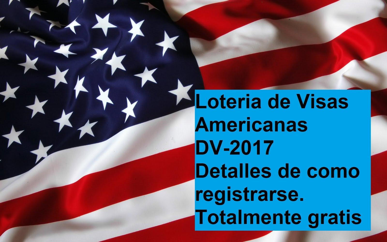 Loteria de Visas DV-2017