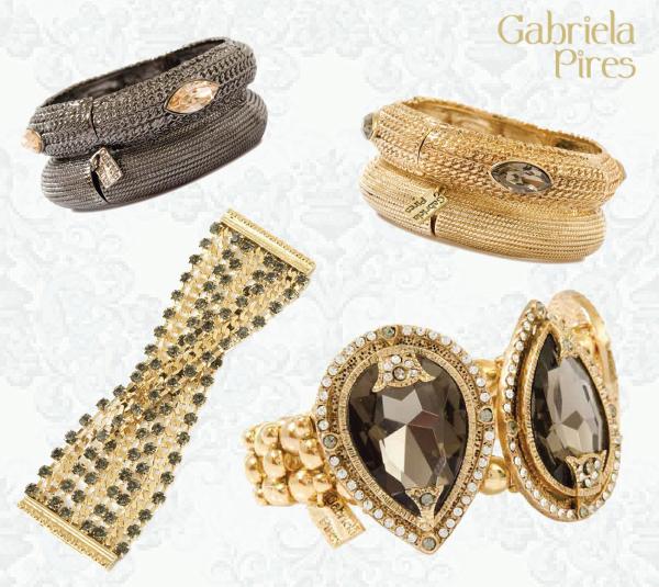 Dicas de presente para o Dia das Mães - semijoias de luxo - braceletes Gabriela Pires