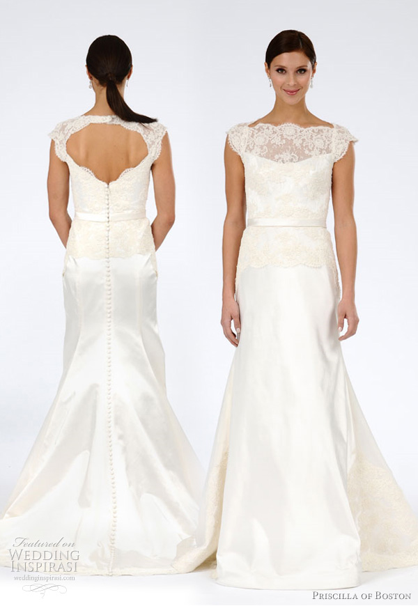 Just lovely i hate you priscilla of boston for Priscilla of boston wedding dresses