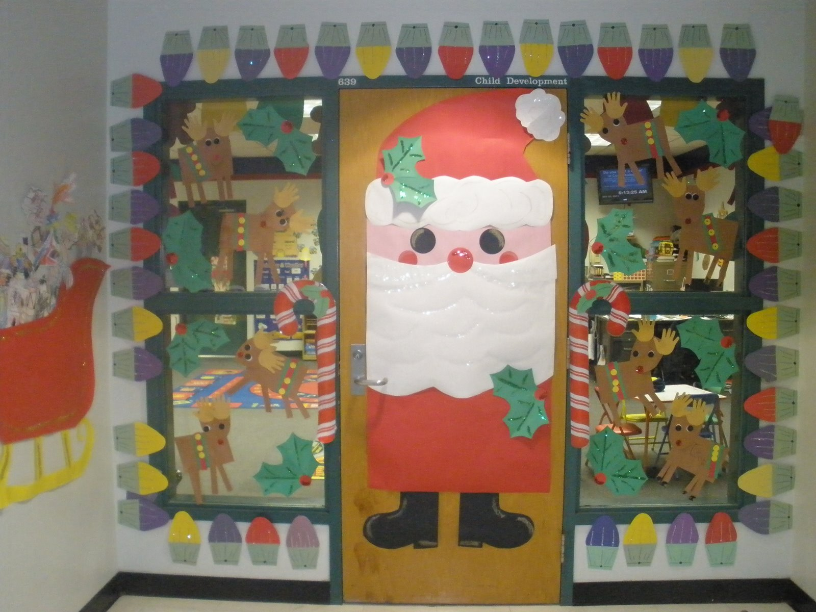 Decorating Ideas > Christmas Reindeer Classroom Door Decorations  Viewing  ~ 183856_Christmas Decoration For Classrooms