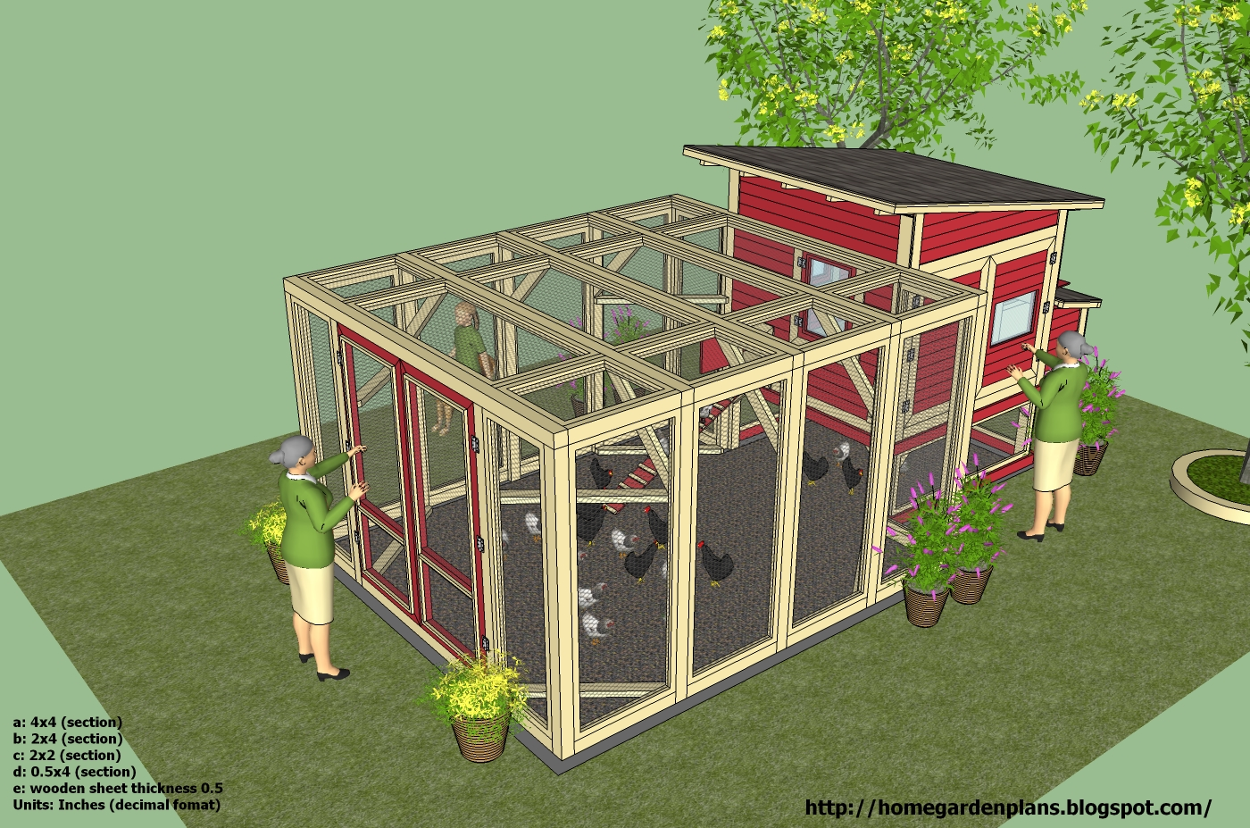 home garden plans l100 chicken coop plans construction