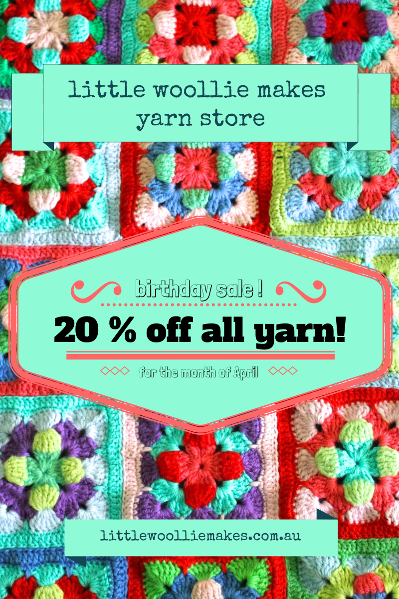 I'm having a sale in the shop this month!