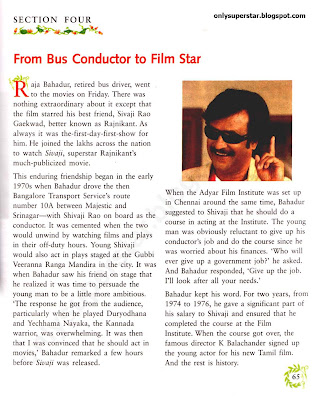 from bus conductor to film star