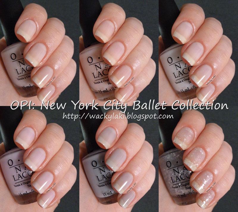 Wacky Laki: OPI New York City Ballet