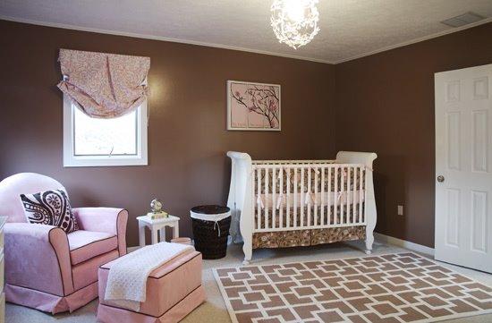 Do Berço do Bebê à Cama da Criança Grande Como Evitar o  ~ Quarto Rosa Marrom