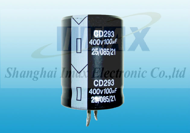 Imax Electronic Alu Electrolytic Capacitors Cd293 2000hrs