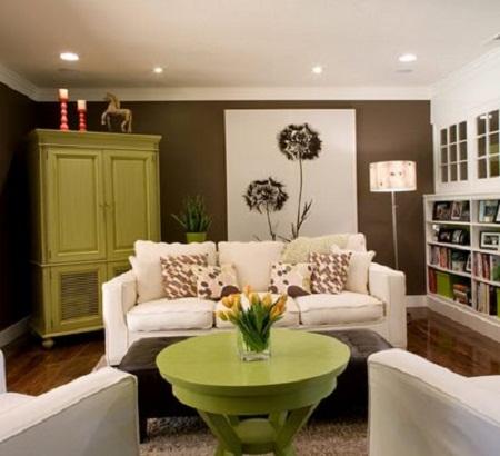 white living room sofa color