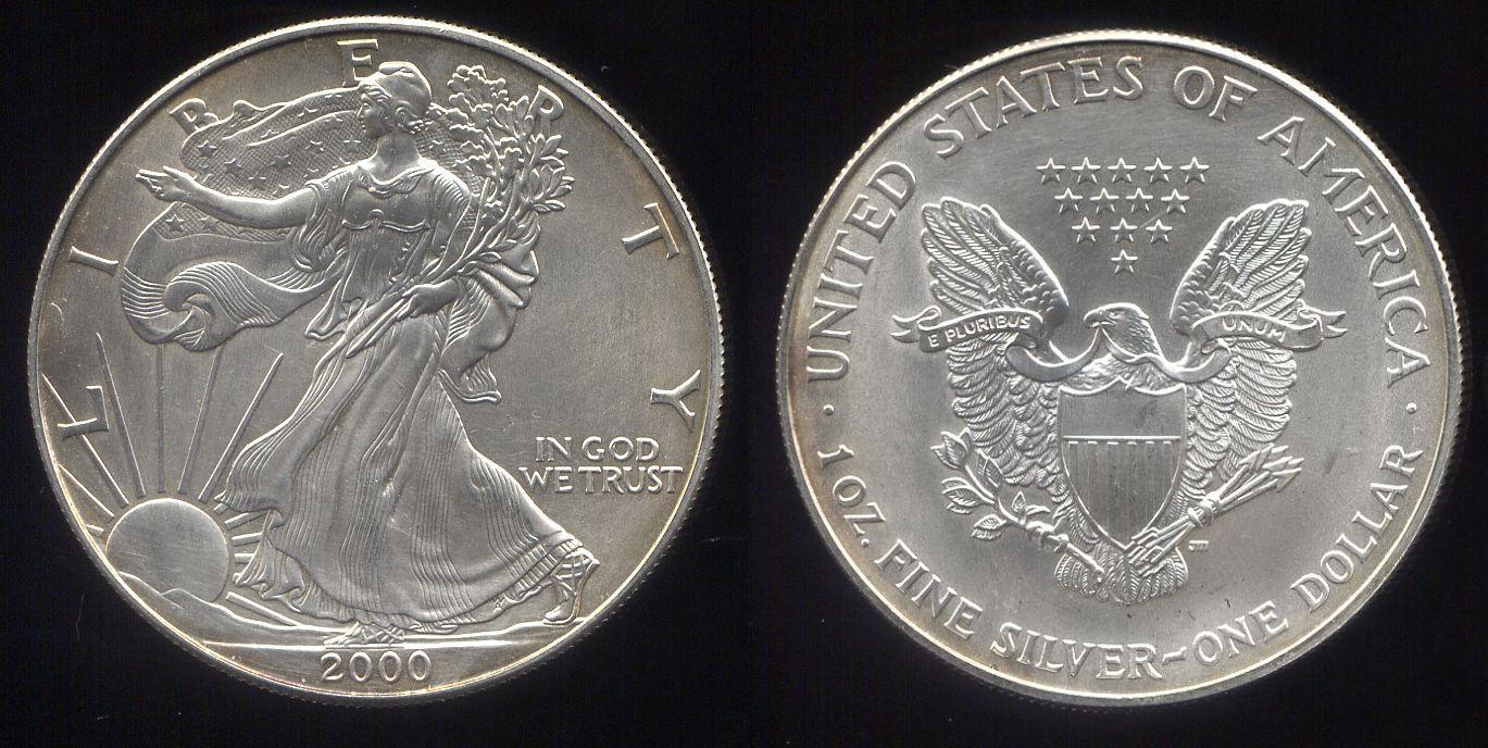 Argento Fisico Bullion Catalog I Silver Eagle Americani