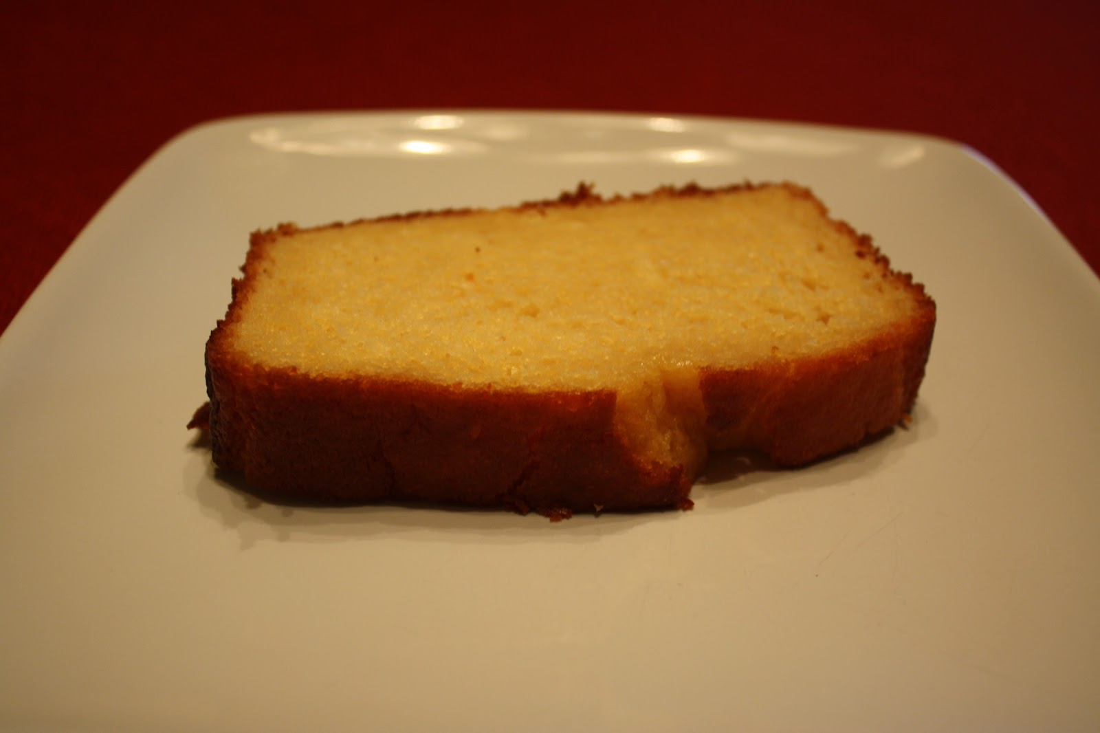 Lactose-Free Girl: Maple Yogurt Pound Cake
