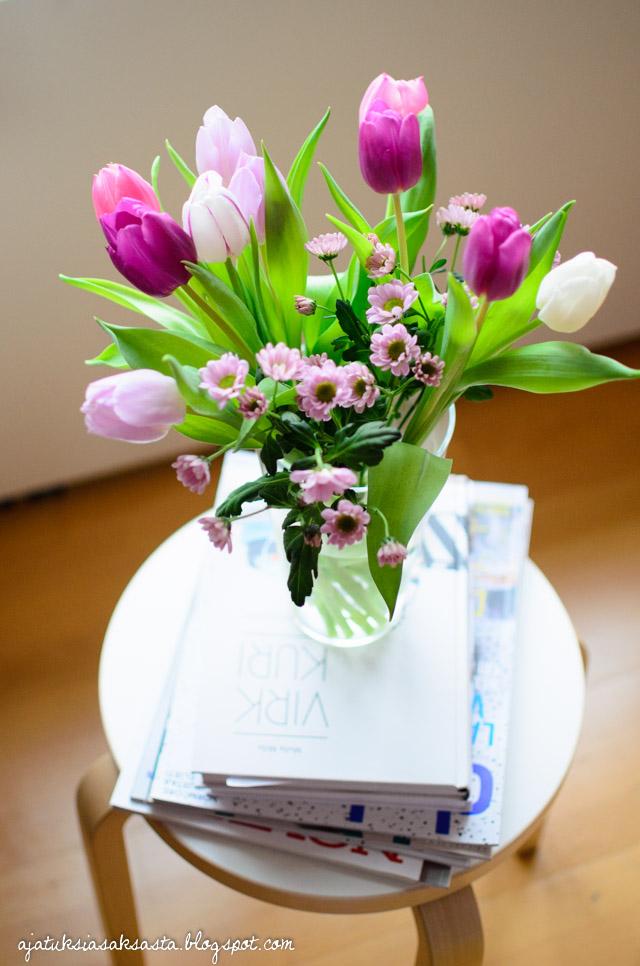 kukkakimppu tulppaani