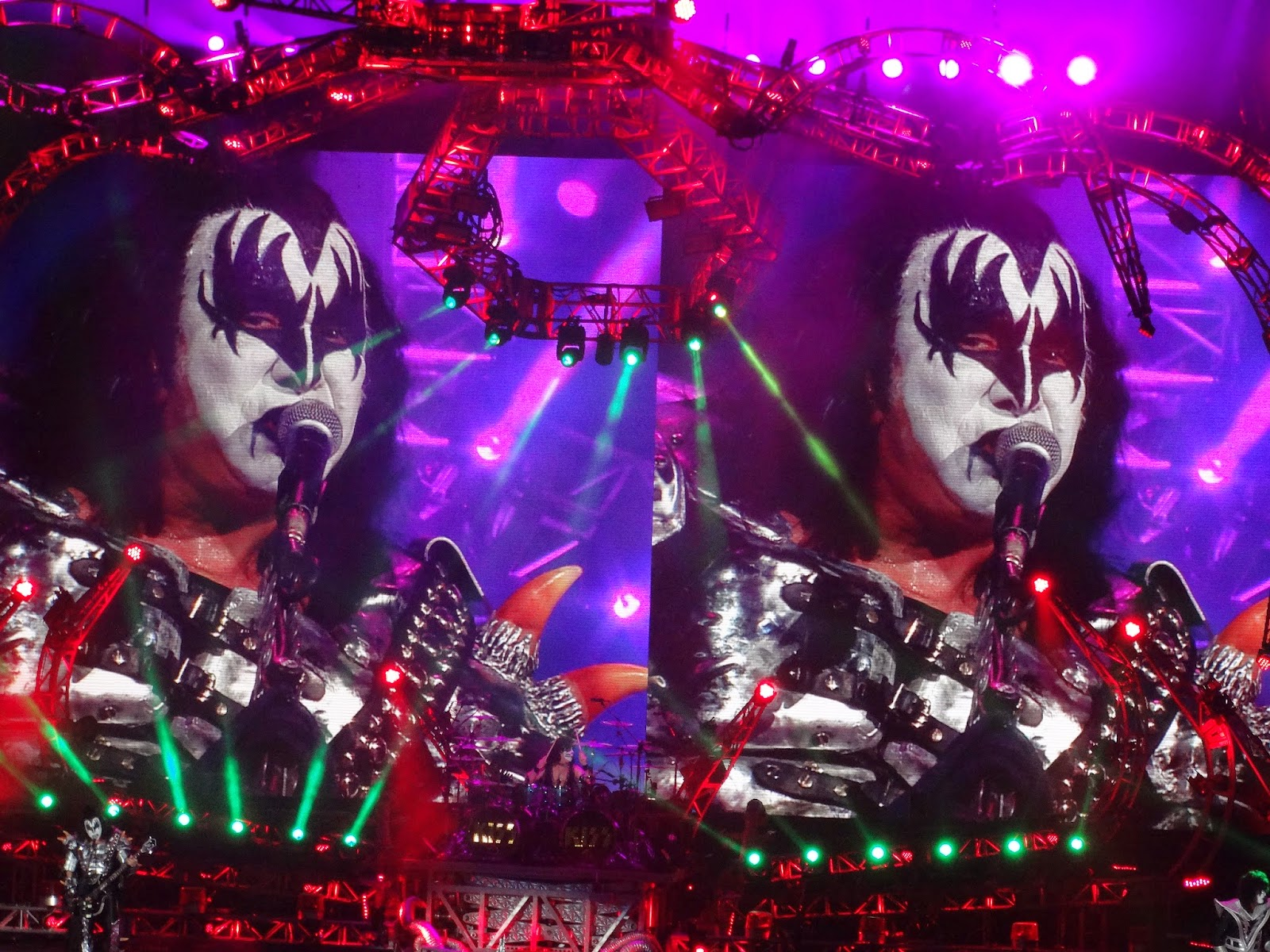 plumdusty s page  kiss 2014 08 20 wells fargo arena des moines iowa