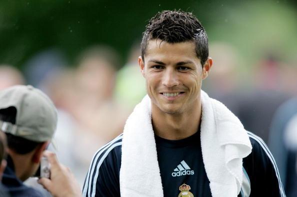 hairstyle Cristiano Ronaldo 2011