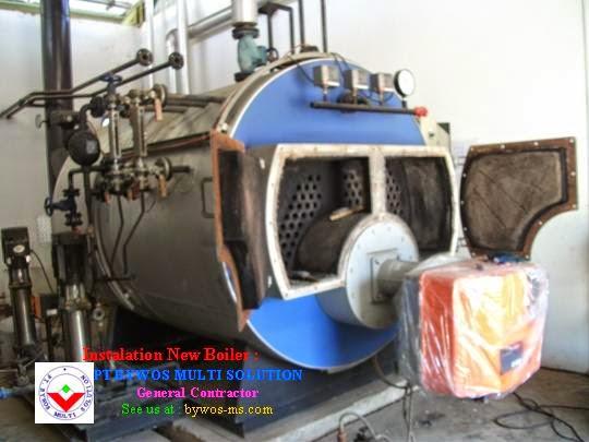 Install New Boiler