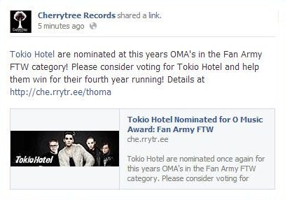 mensaje-Cherrytree-votar-tokiohotel-OMA-official-humanoid-colombia-fanclub