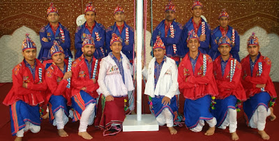maher team in traditional dress
