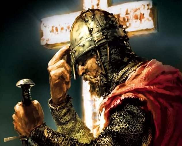 """""""Agora, quem não tem uma espada, venda o manto e compre uma"""" (São Lucas XXII, 36)"""