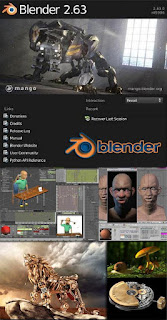 Blender 3D modeling animation for Windows, Linux, Irix, Sun Solaris, FreeBSD or Mac OS X