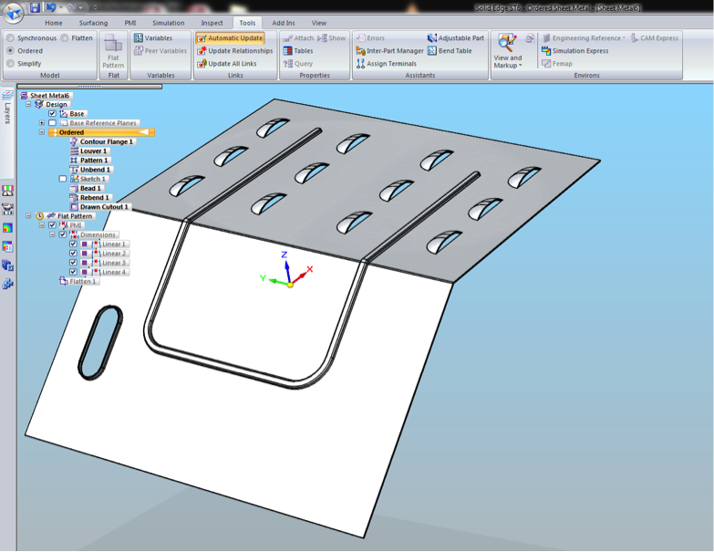How To Bend Metal Sheet Solidworks Show Bend Lines In