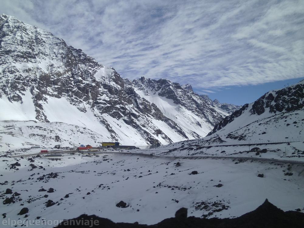 Andes, Chile, Argentina, ruta, cordillera