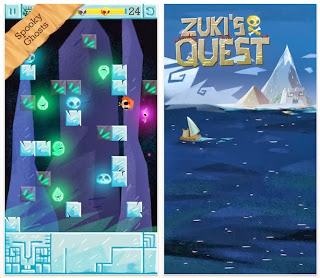 Zuki's Quest: free puzzle app game for iphone, ipad