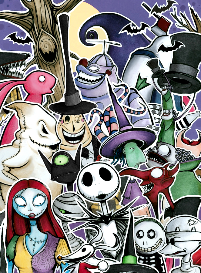 All Nightmare Before Christmas Characters Images & Pictures - Becuo