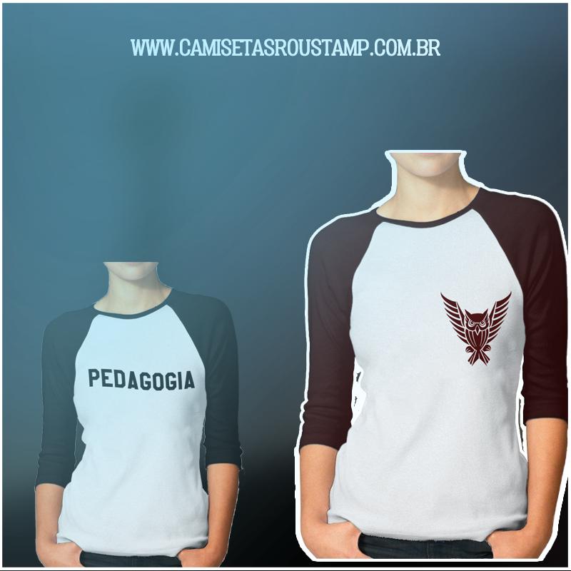 Lindas camisetas de Pedagogia(CLIQUE NA FOTO)