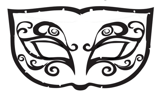 Desenhos Modelos E Moldes De Mascaras De Carnaval Para Imprimir E